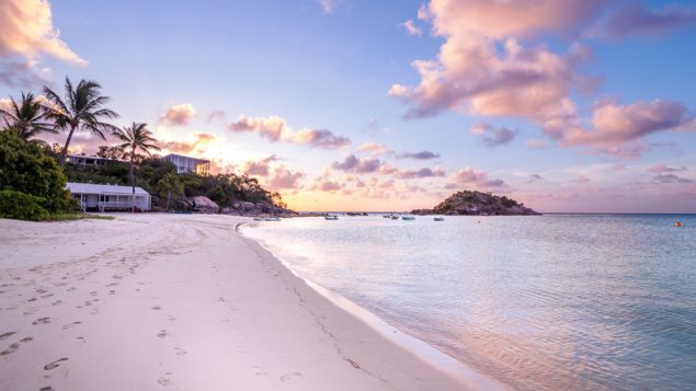 Delaware Lizard Island is a luxury escape destination