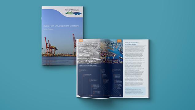 Port of Melbourne Development Strategy Mock Up