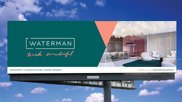 Waterman business centre billboard